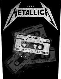 no life til leather back patch