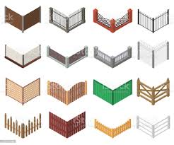 Gates And Fences Sign 3d Icon Set Isometric View Vector Stock Illustration Download Image Now Istock