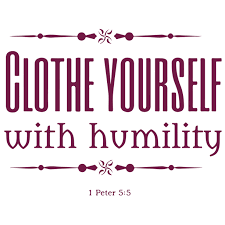 1 Peter 5 5 Clothe Yourself With Humility Vinyl Decal Sticker Quote Small Violet Walmart Com Walmart Com