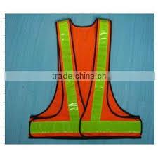 igh visibility reflective vest safety