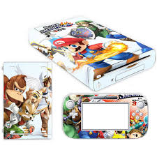 Super Mario Skin Sticker For Nintendo Wii U Console Cover With Remotes Controller Skins For Nintend Wii U Sticker Stickers Aliexpress