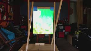 diy rear projection screen easiest way
