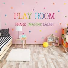 Colored Pattern Play Room Wall Sticker Kids Rooms Bedroom Decorations Wallpaper English Proverbs Mural Removable Stickers Owl Wall Decals Owl Wall Stickers From Youlovehome 3 1 Dhgate Com