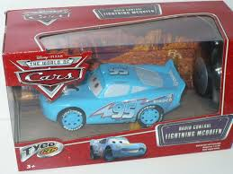 tyco lightning mcqueen dinico blue 95