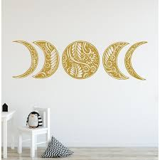 Shop Moon Phase Wall Decal Mandala Moon Decal Bohemian Overstock 31961007