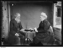 Edgar Smith Wigg and his wife Jane • Photograph • State Library of ...