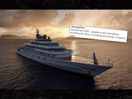 David Geffen Assures Us He's Isolating on His $590 Million Yacht