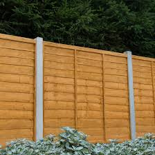 Traditional Wood Lap Fence Panel W 1 83 M H 1 83m Fence Panels Garden Fence Panels 6ft Fence Panels