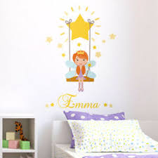 Fairy Stars Wall Decal Sticker Princess Fairy Wall Decal Stars Girls Room Decor Ebay