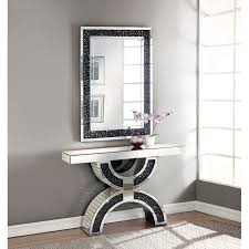 rae 47 console table and mirror set