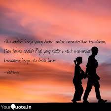 aku adalah senja yamg had quotes writings by author ramvny