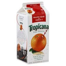 orange juice healthy heart omega 3