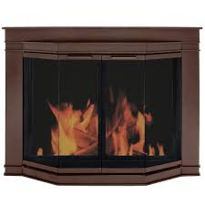 glass fireplace doors gl 7701