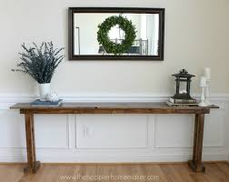 diy console table 5 ways bob vila