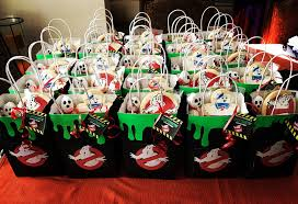 Ghostbuster Birthday Party Good Bags More Fiesta Cazafantasmas