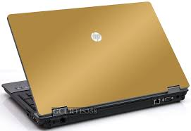 Gold Vinyl Lid Skin Cover Decal Fits Hp Probook 6550b Laptop For Sale Online Ebay
