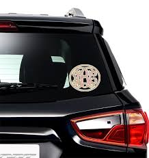 Mother S Day Monogram Car Decal Youcustomizeit