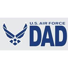 Air Force Bumper Stickers Vinyl Transfers Air Force Decals Stickers