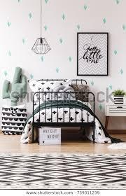 Scandinavian Style Kids Bedroom Cactus Pillow Stock Photo Edit Now 759311239