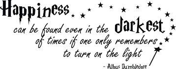 dumbledore light quote plus the typewriter quote on by to produce
