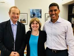Bertini named Rockefeller Foundation Fellow by its president Dr. Rajiv Shah  2017 — Catherine Bertini