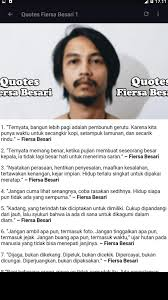 quotes fiersa besari for android apk