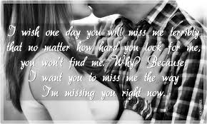 i want you to miss me the way i m missing you silver quotes