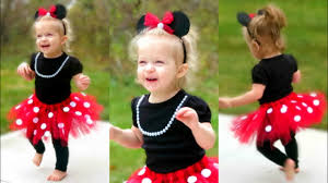 diy minnie mouse costume for toddlers