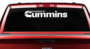 For 36 X 6 Ram Powered By Cummins Truck Decal Window Sticker Pickup Truck Car Stickers Aliexpress