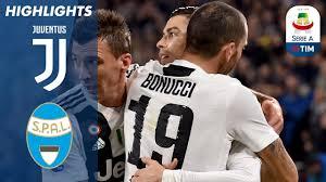Juventus 2-0 Spal | Ronaldo And Mandžukić Lead Bianconeri To Win ...