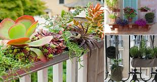 20 Diy Railing Planter Ideas For Balcony Gardeners