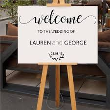 2020 Wedding Welcome Sign Decal Rustic Wood Wedding Decor Bride And Groom Names Wedding Date Customized Vinyl Sticker New Arrival From Zehanhome 11 58 Dhgate Com