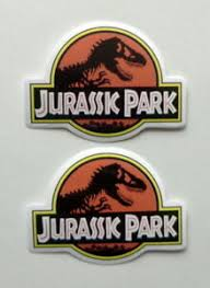 Jurassic Park Waterproof Stickers Set Vinyl Decal Free Shipping 2 Red Stickers Ebay
