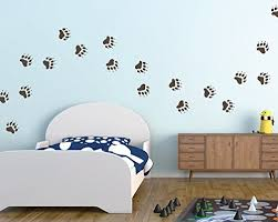Bear Track Pattern Wall Decals Set Of 2 Buy Online In Albania At Desertcart