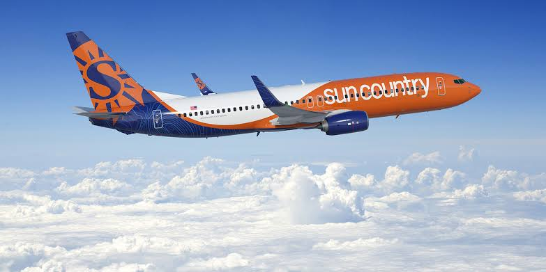 Image result for sun country airlines""