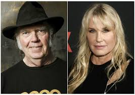 Neil Young acknowledges he and Daryl Hannah are married