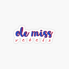 Ole Miss Rebels Stickers Redbubble