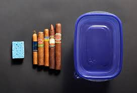 how to cigars without a humidor