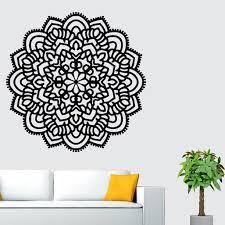 Gobestart Mandala Flower Indian Bedroom Wall Decal Art Stickers Mural Home Vinyl Family Bk Walmart Com Walmart Com