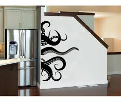 Harriet Bee Octopus Kraken Tentacles Wall Decal Reviews Wayfair