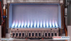 furnace flame tips correct and