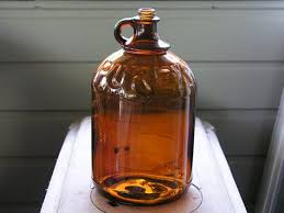 vintage purex gallon bottle jug brown