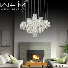 crystal pendant lighting lamps