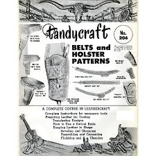 0206 belts and holster patterns