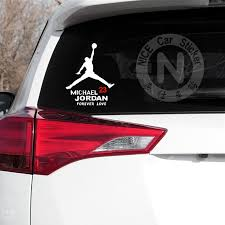 Car Stickers Micheal Jordan 23 Basketball Creative Decal For Fuel Tank Cap Auto Tuning Laptop Tablet Styling 14x11cm 20x16cm D10 Buy At The Price Of 2 16 In Aliexpress Com Imall Com