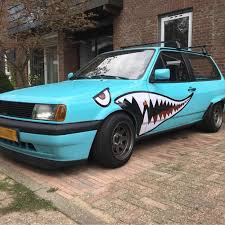Shark Mouth Teeth Stickers Car Decal Diy Pvc Cool High Quality Brand New Car Stickers Aliexpress