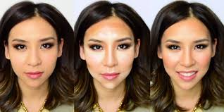 slim your face makeup tricks how to