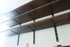 shelves easy l bracket shelves