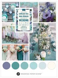sea glass blue inspired wedding theme