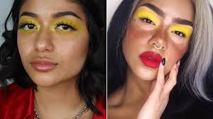 yellow eye shadow how to pull off the